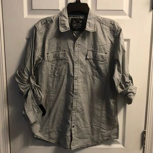 Other - 5 for $20 - Light gray button down shirt